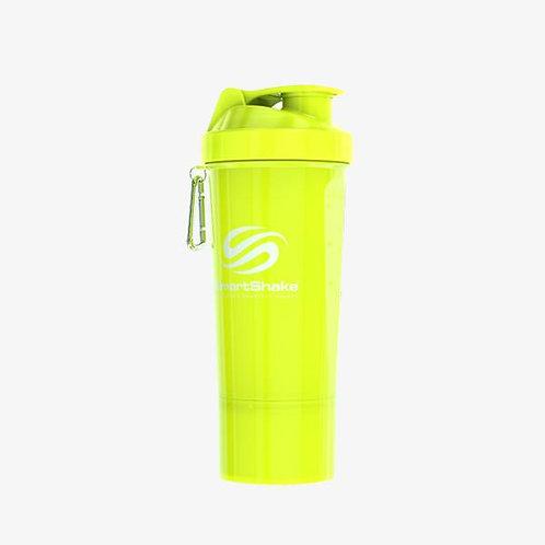 SmartShake-Шейкер Neon 500 мл - жёлтый slim