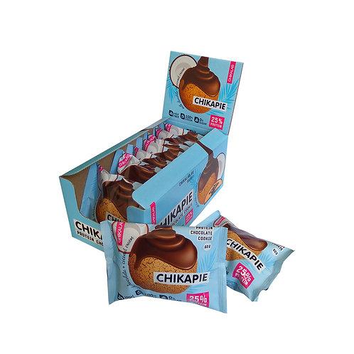 CHIKALAB-Печенье глазированное с начинкой 9*60 гр.- кокос