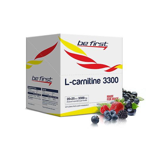 Be First-L-carnitine 3300 20 ампул - лесные ягоды