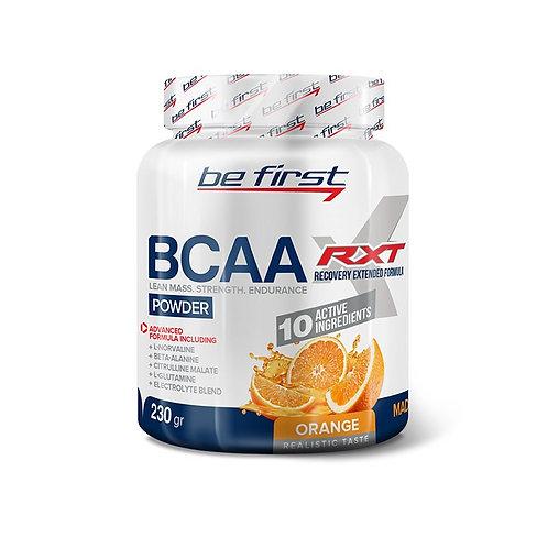 Be First-BCAA RXT powder 230 гр - апельсин