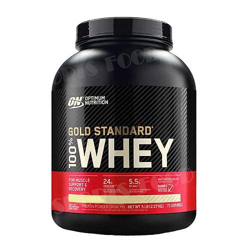 Optimum Nutrition-100% Whey Gold Standard 2270 гр - шоколад-мята