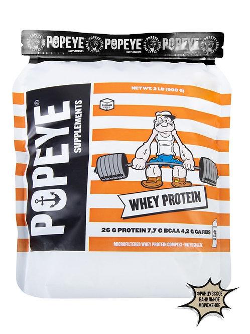 POPEYE-Protein  908 гр (пакет) - французское ванильное мороженое