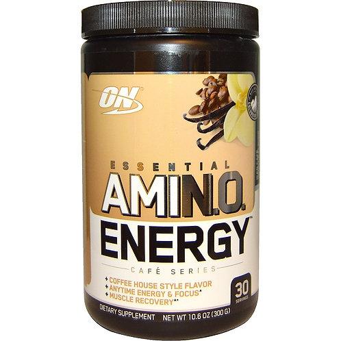Optimum Nutrition-Amino Energy 300 гр - кофе с ванилью