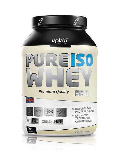 VP Laboratory-Iso Whey 908 гр - ваниль