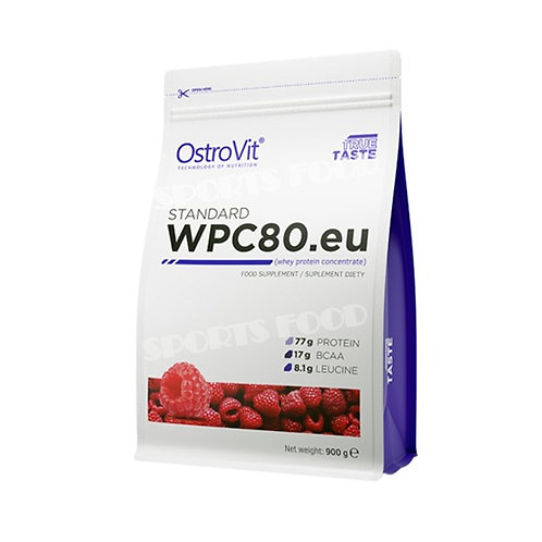 Ostrovit-WPC80 900 г - малина
