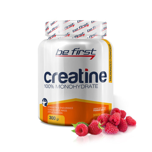Be First-Creatine powder 300 гр - малина