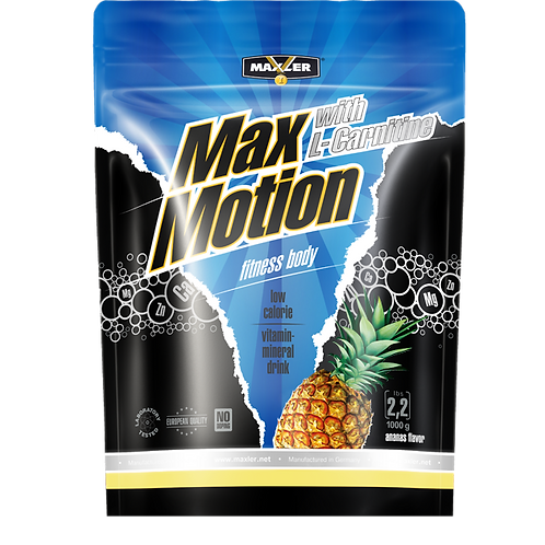 Maxler-Max Motion with L-Carnitine 1000 гр - ананас (пакет)