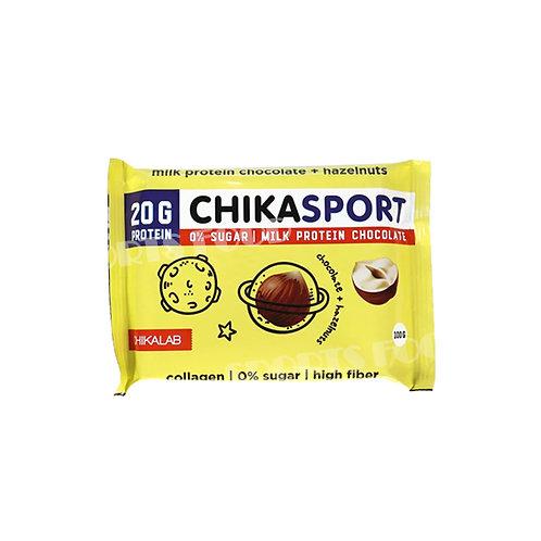 CHIKALAB-Шоколад молочный с фундуком 100 гр