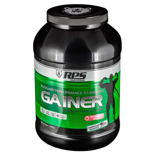 RPS Nutrition-Premium Mass Gainer 4540 г - клубника
