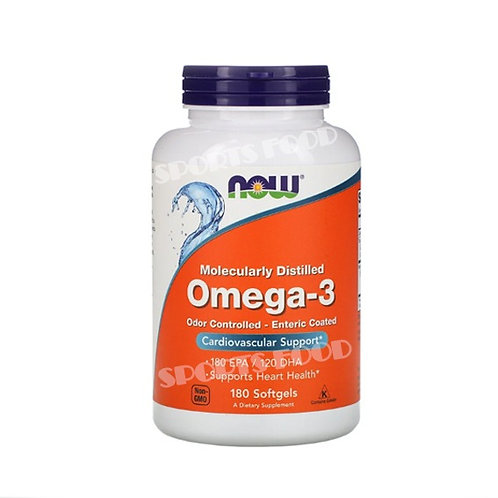 NOW-Omega 3 180  капс