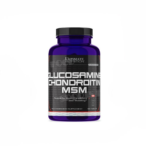 Ultimate Nutrition-Glucosamine & Chondroitin + MSM 90 таб