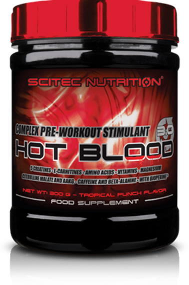 Scitec-Hot Blood 3.0 300 гр - розовый лимонад