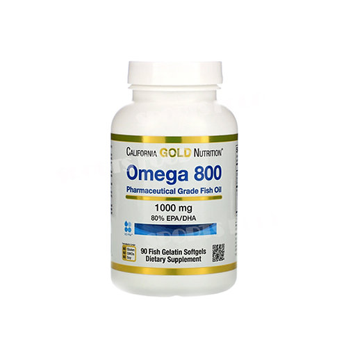 California GOLD Nutrition-Omega 800 1000 мг 90 капс