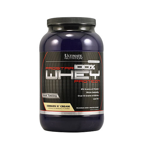 Ultimate Nutrition-Prostar Whey 0.9 кг - ваниль