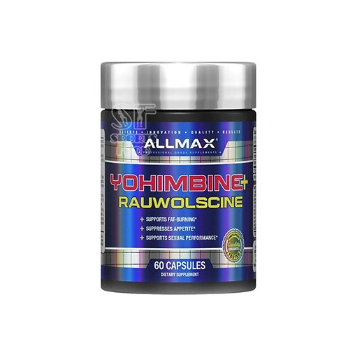 Allmax-Yohimbine HCI+ Rauwolschine 3.0 мг 60 капс
