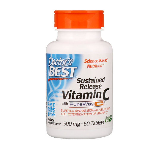 Doctors BEST-Vitamin C 500 mg 60 таб