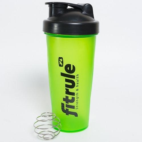 FitRule-шейкер классический - зеленый+черная крышка