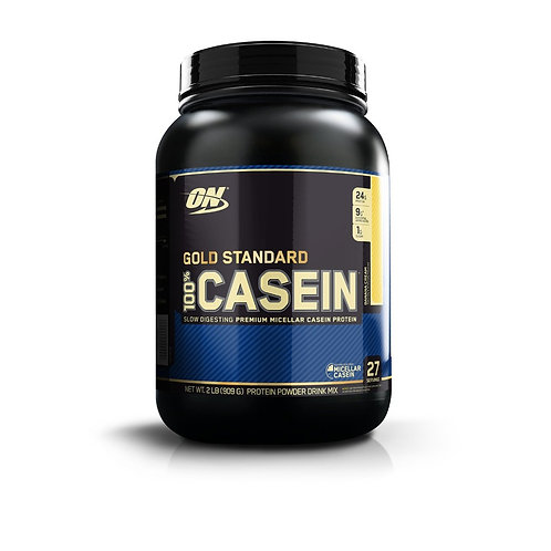 Optimum Nutrition-Casein 0,9 кг - банан-крем