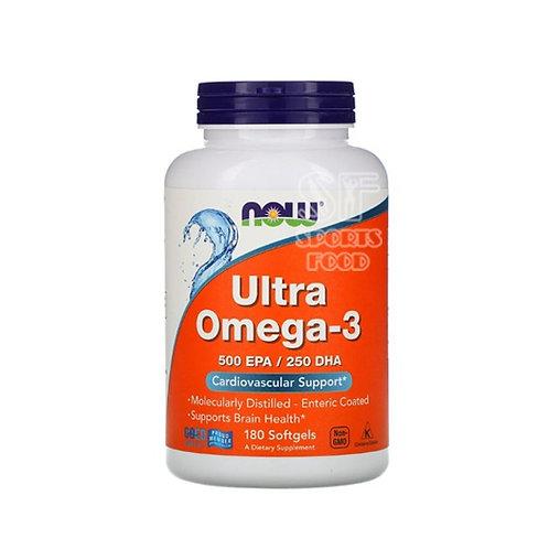 NOW-Ultra Omega 3 500/250 180 капс