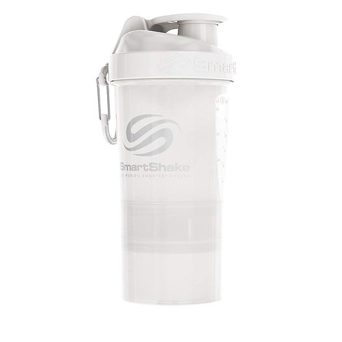 SmartShake-Шейкер Original2Go 600 мл - белый