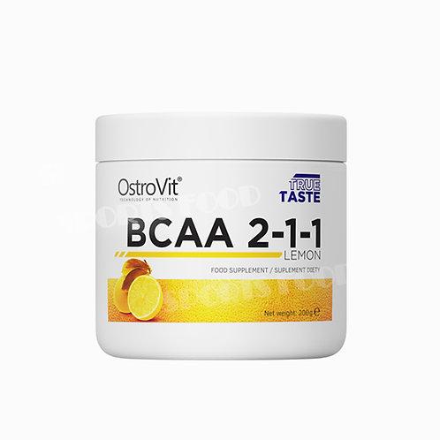 Ostrovit-BCAA 2-1-1 200 г - лимон