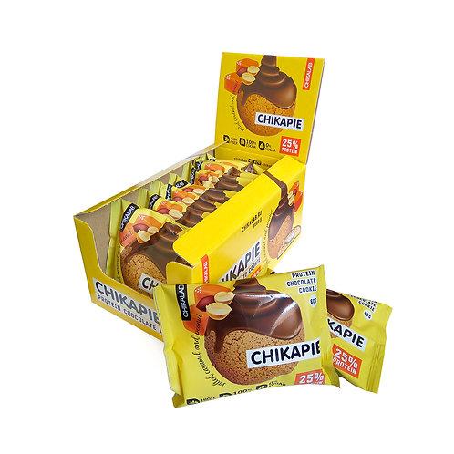 CHIKALAB-Печенье глазированное с начинкой 9*60 гр.- арахис