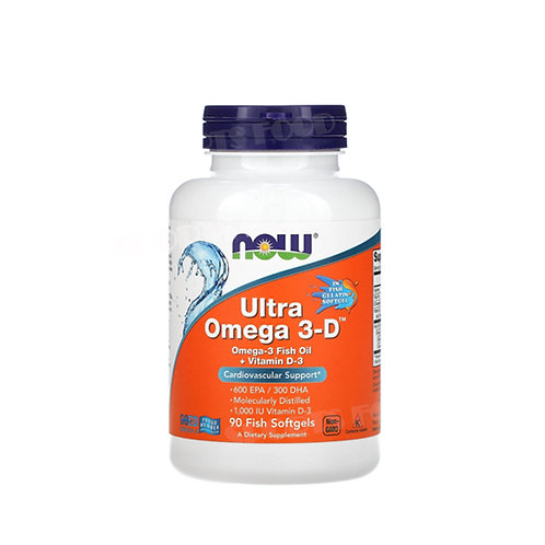 NOW-Ultra Omega 3-D 90 капс