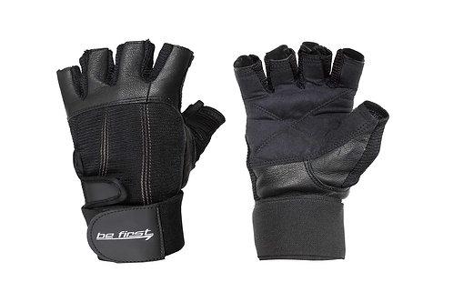 Be First-Перчатки черные с фиксатором (арт 703)