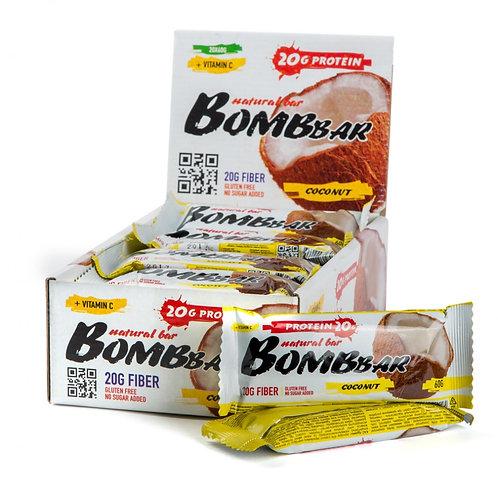 BOMBBAR-Батончик Bombbar 20*60 г - кокос
