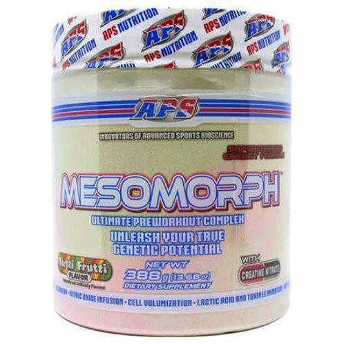 APS Nutrition-Mesomorph 388 гр - тутти-фрутти