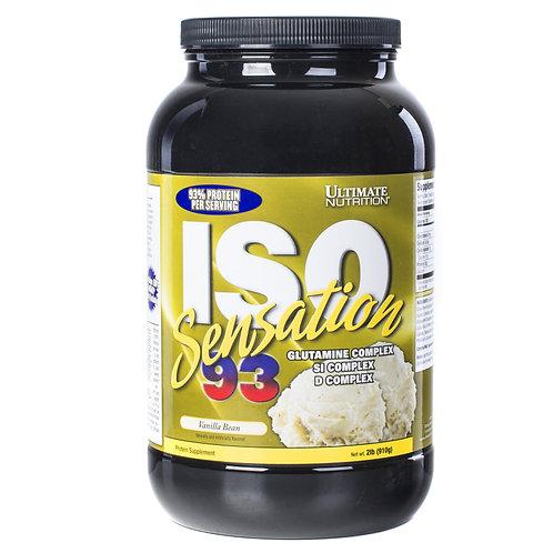 Ultimate Nutrition-ISO Sensation 2lb-910 гр - ванильный