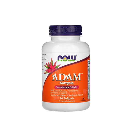 NOW-ADAM Men's Multivitamin 90 мягк капс