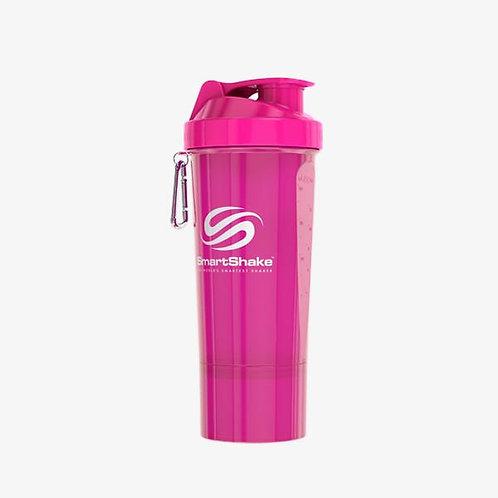 SmartShake-Шейкер Neon 500 мл - розовый slim