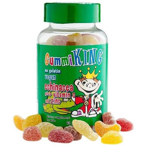 Gummi King-Эхинацея  витман С и zink 60 жев мармеладок