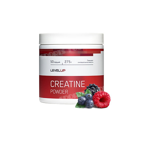 LevelUp-Creatine Powder 275 г - лесные ягоды
