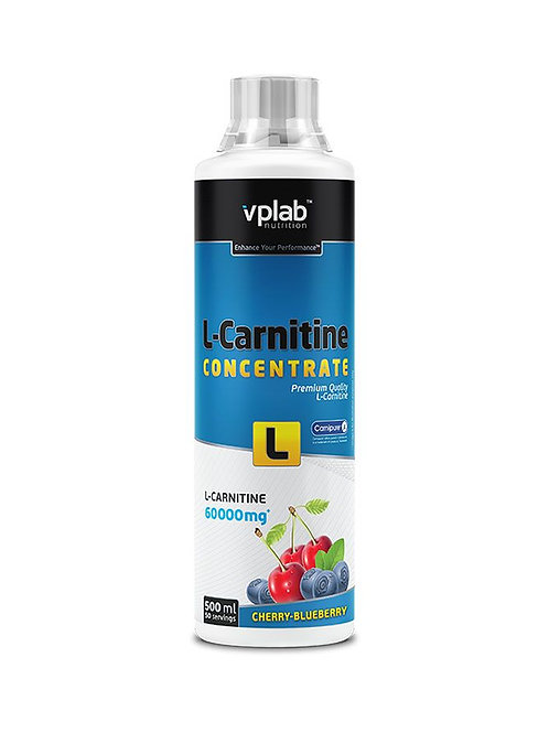 VP Laboratory-L-Carnitine concentrate 500 мл - вишня-черника