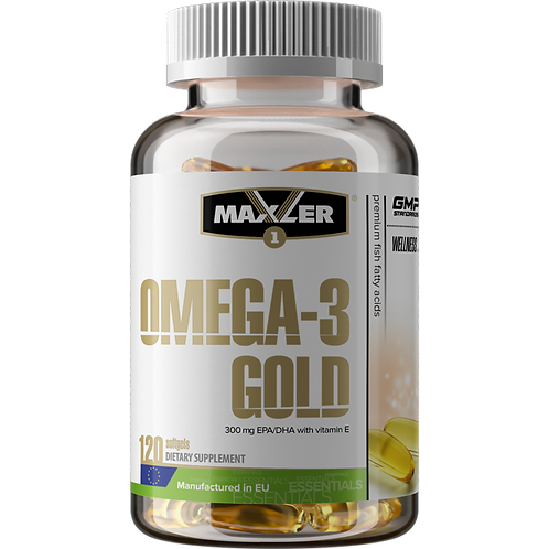 Maxler-Omega-3 Gold 120 капс