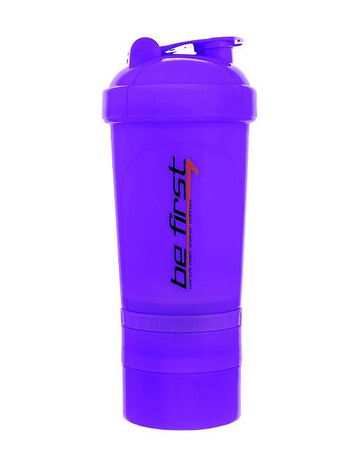 Be First-Шейкер Be First 500 мл 3-в-1 - фиолетовый  (TS1352)