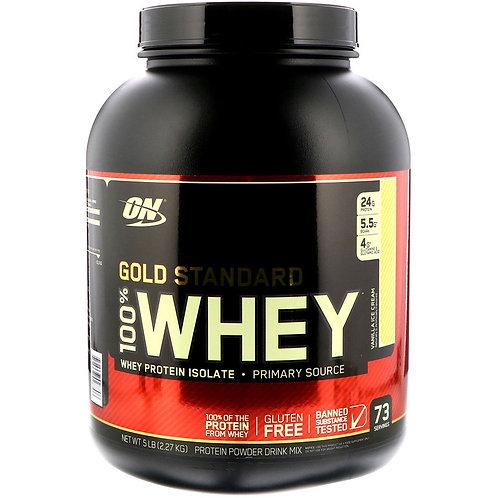 Optimum Nutrition-100% Whey Gold Standard 2270 гр - ваниль