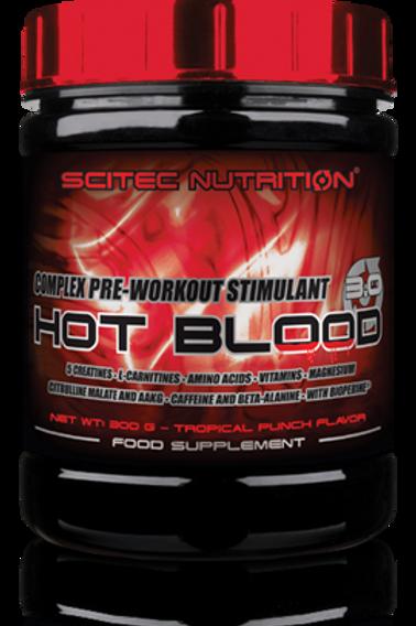 Scitec-Hot Blood 3.0 300 гр - красный апельсин