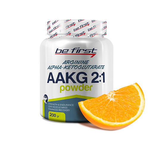 Be First-AAKG powder 200 гр - апельсин