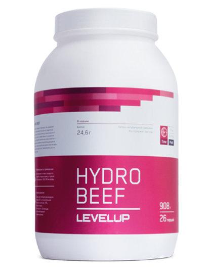 LevelUp-Hydro beef 908 гр - чёрная смородина