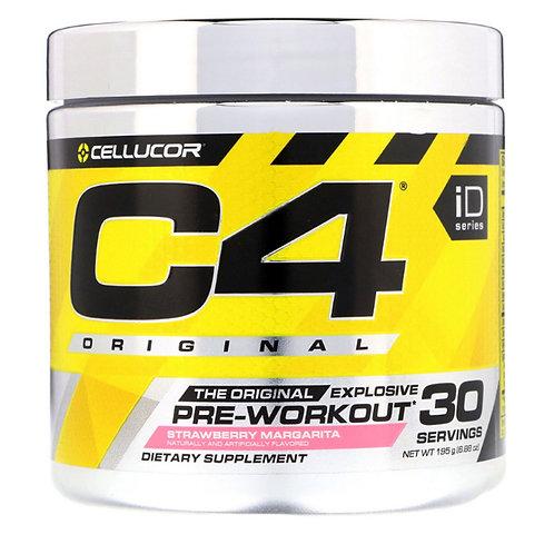 Cellucor-C4 PRE-WORKOUT 195 г - клубничная маргарита  (30 порций)
