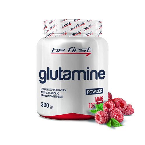 Be First-Glutamine powder 300 гр - малина
