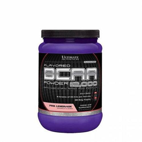 Ultimate Nutrition-BCAA 12000 228 гр - розовый лимонад