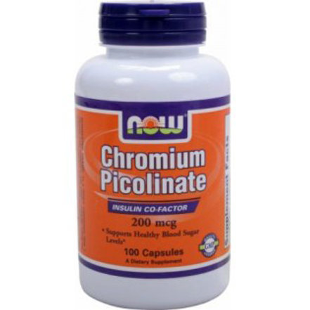 NOW -Chromium Picolinate 200 mg 100 капс