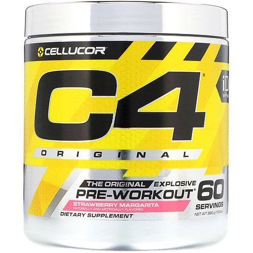 Cellucor-C4 PRE-WORKOUT 390 г - клубничная маргарита  (60 порций)