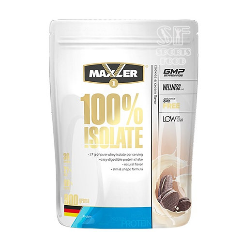 Maxler-100% Isolate 900 гр - печенье-сливки