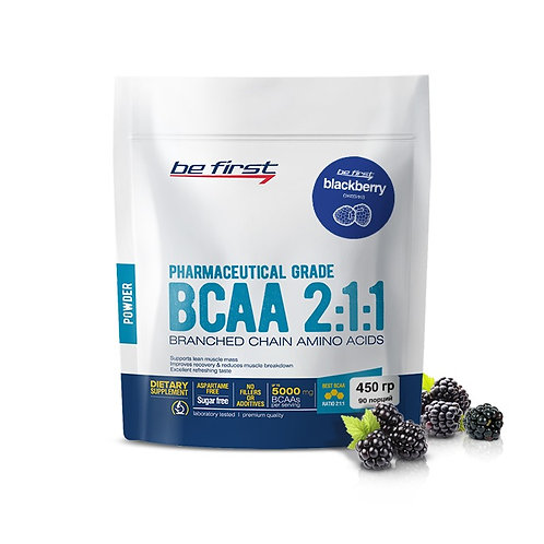 Be First-BCAA 2:1:1 CLASSIC powder 450 гр - ежевика