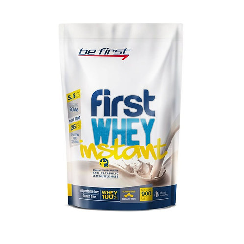 Be First-Whey instant 900 гр -  без вкуса